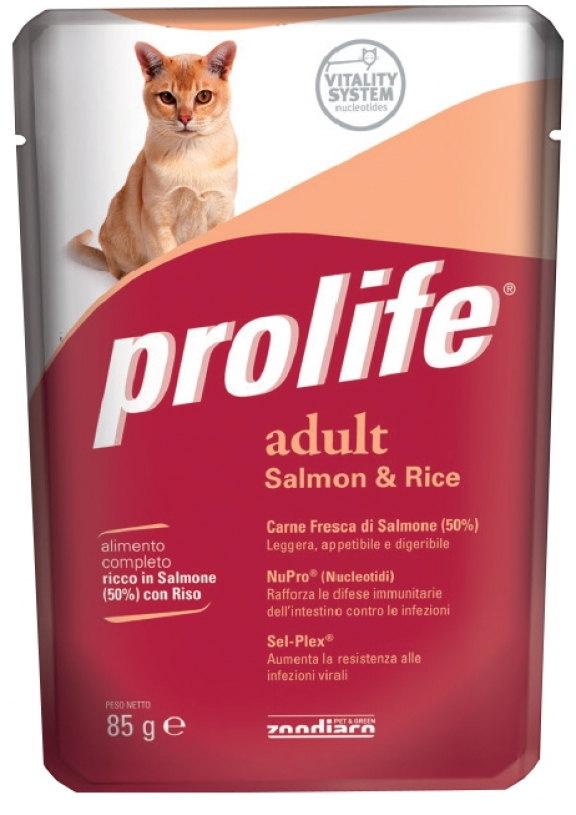 Complete pet food full of fresh lamb and rice for cats from 12 months old.