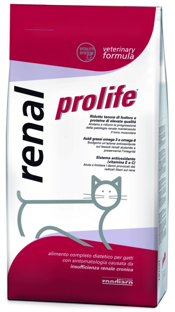 Complete dietetic pet food for cats with overweight or obesity problems.