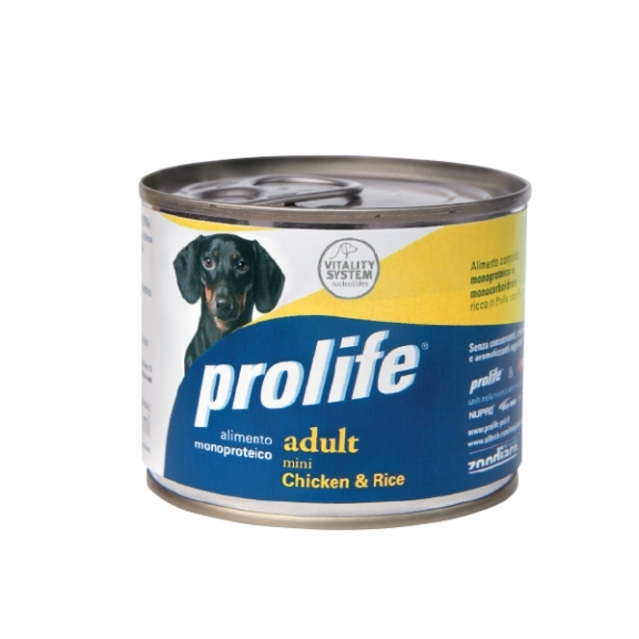 Complete pet food full of fresh lamb with rice for sensitive puppies.