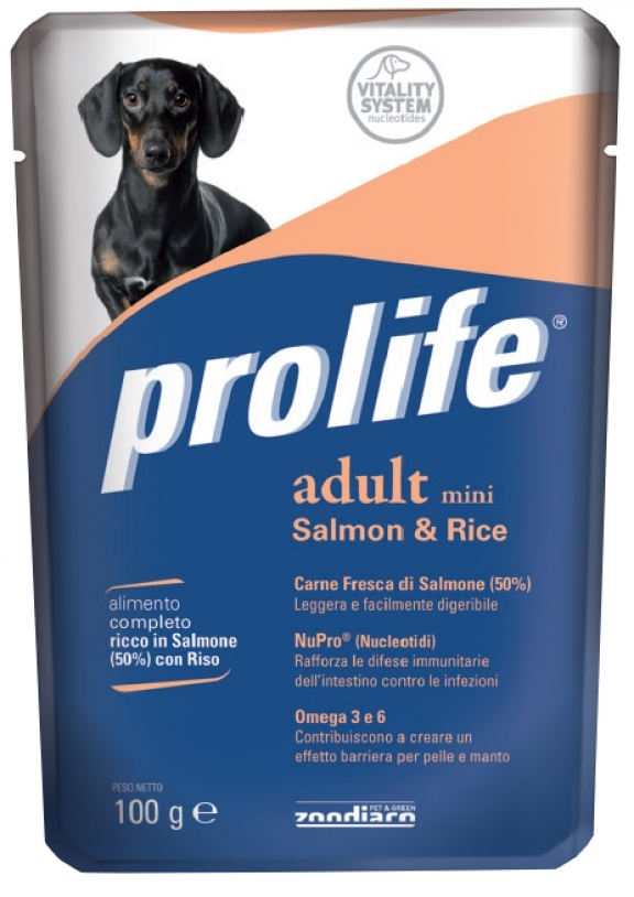 Complete pet food full of fresh lamb with rice for dogs from 10 months old.